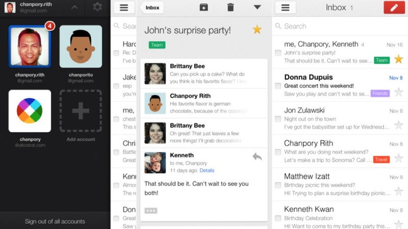 Gmail App Update Lets You Swipe Through Messages