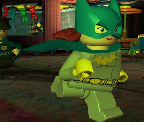 OMG Lego Batgirl!