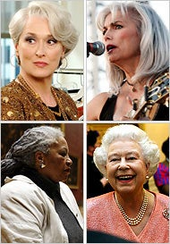 Are You Woman Enough To Go Gray?