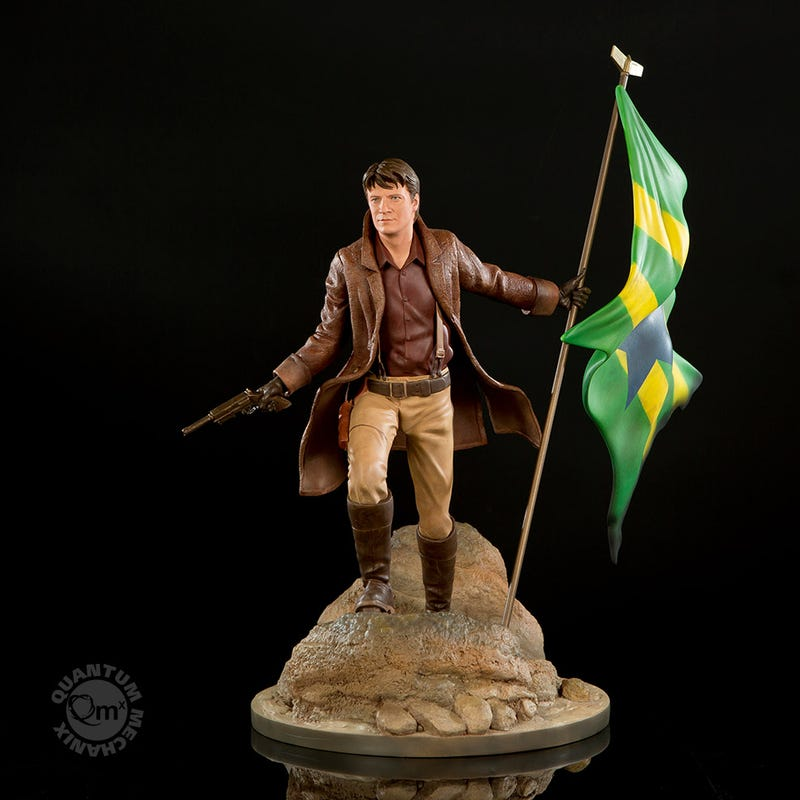 Too Pretty to Die: The Ultimate Statue of Firefly's Malcolm Reynolds
