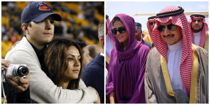 Who Is Getting Richer Off Twitter? Ashton Kutcher and a Saudi Prince