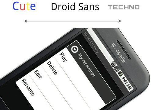 The Inside Story of the Android Font