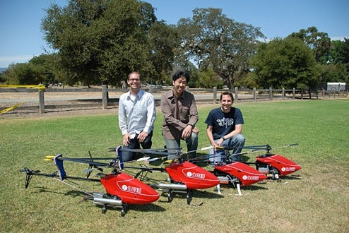 Stanford's UAV Helicopters Learn to Fly Themselves by Watching