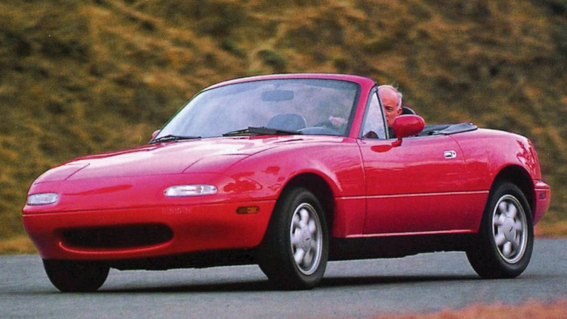 The Mazda Miata Isn't Really A Girl's Car