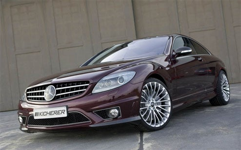 Kicherer Mercedes CL65 AMG Rocket Sled Puts Down 885 Foot-Pounds Of Fun