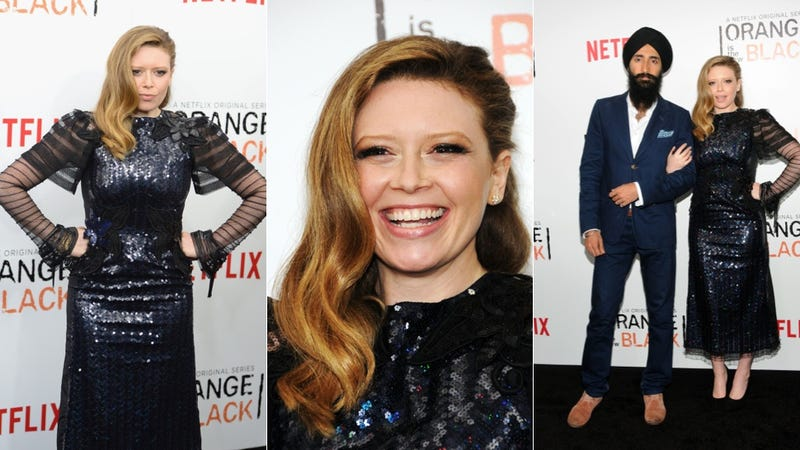 Fab Dresses and Bold Lips at the Premiere of Orange Is The New Black