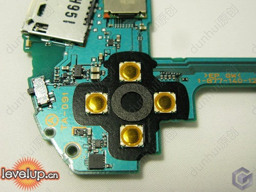 PSP Go Disassembly Gallery