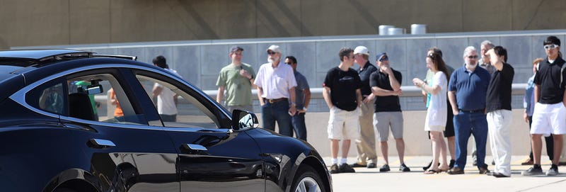 Tesla and The Chasm - a day with a group of Model S owners