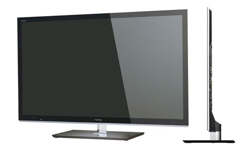 Toshiba's Thin F1 3DTV Upscales to 3D and Has a Design Heritage To Be Proud Of