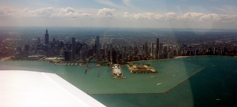 Chicago Skyline Is Best Viewed From The Air