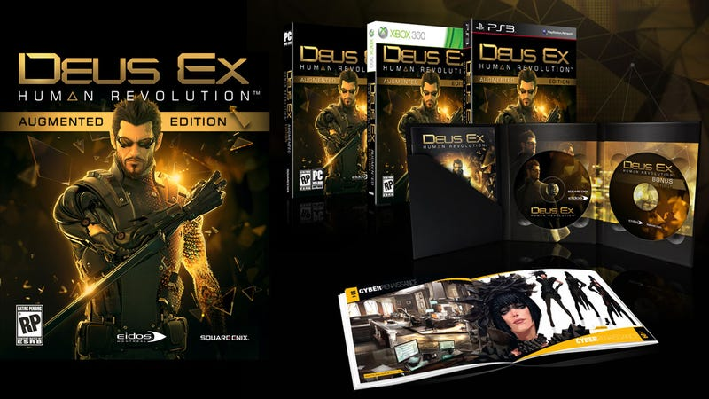 Deus Ex: Human Revolution Gets Augmented With Fancy Extras (And A Release Date)