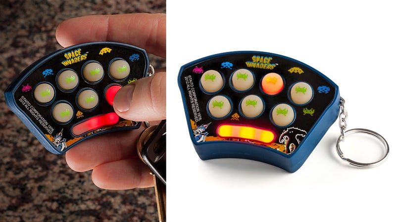 Keychain Space Invaders Puts Whac-an-Alien in Your Pocket