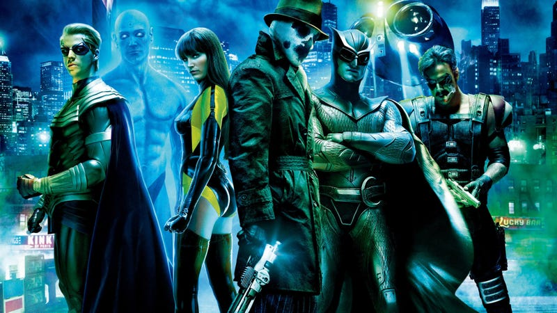 HBO is preparing a series of Watchmen, the legendary superhero comic