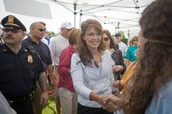 Sarah Palin Still On The Trail, Still Exasperating