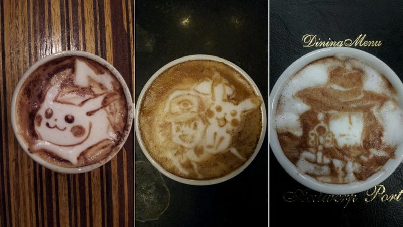 This Guy's Geeky Latte Art Will Blow Your Mind
