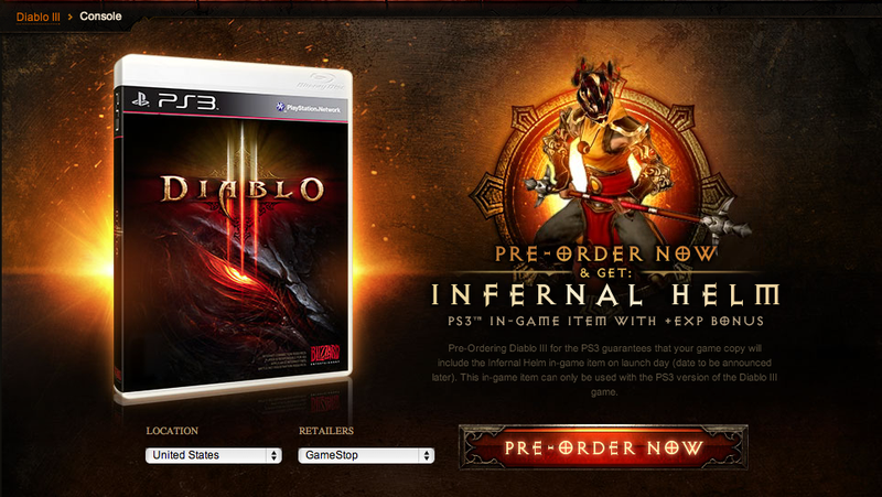 Pre-Order The PS3 Version Of Diablo III And You Get To Grind Faster