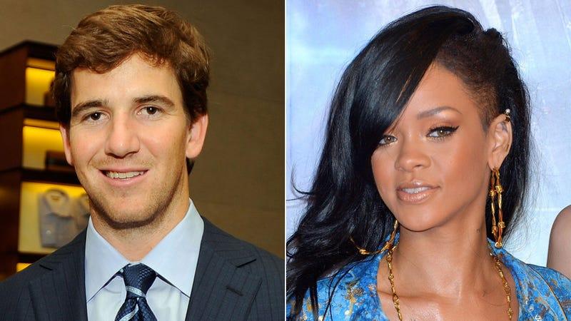 SNL Tonight: Eli Manning, Meet Rihanna. Rihanna, Eli.