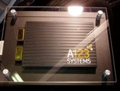 Chevy Volt Battery Cell from A123 Systems