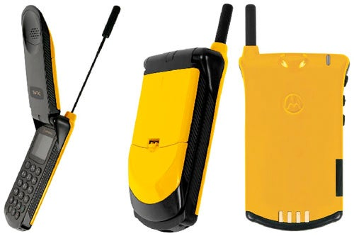 The Motorola StarTAC is Back, in Yellow