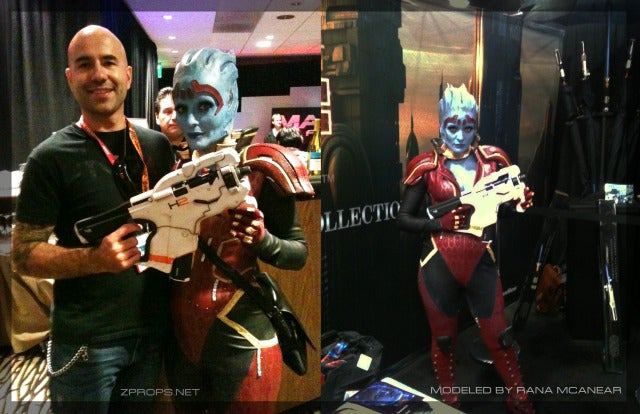 Man Builds a Real Mass Effect Gun, it's Used by the Real Samara