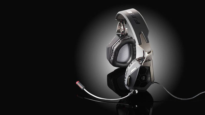 Mad Catz's Cyborg Line Grows a Sexy Pair of Ears