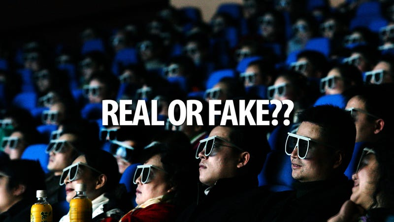 Is That Movie You're Seeing Real or Fake 3D?