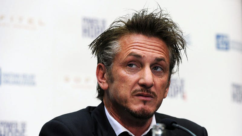 What Does Sean Penn Have Against Hairbrushes?