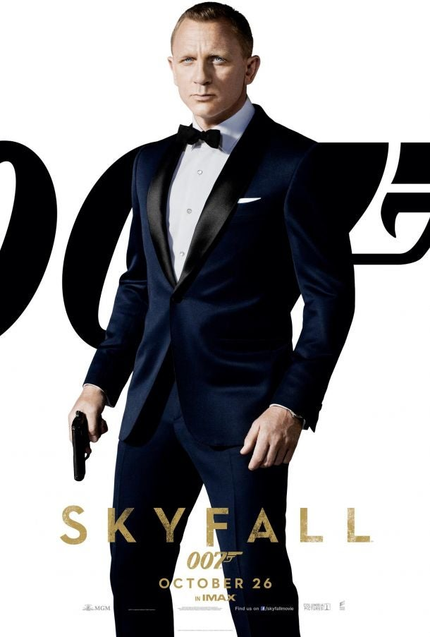 Skyfall Character Posters