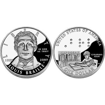 Most Blind People Can't Read New Braille Coin