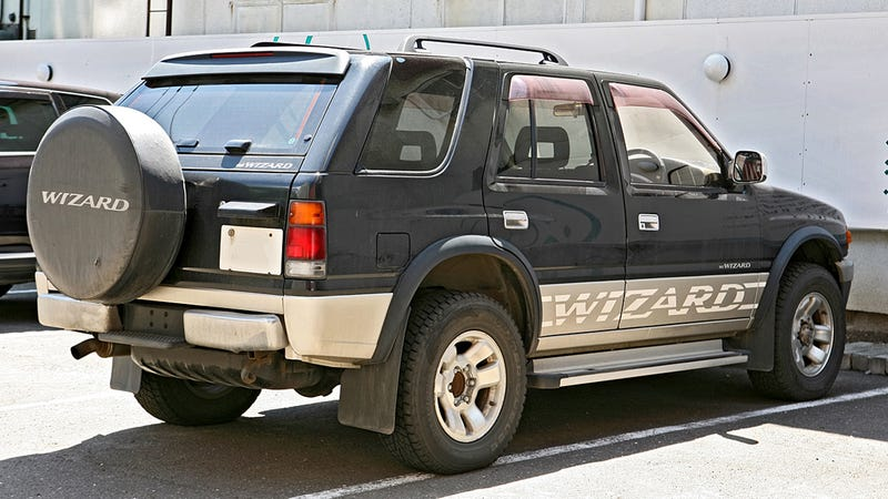 Isuzu Built A SUV Called The Wizard And It's Pretty Good At Burnouts
