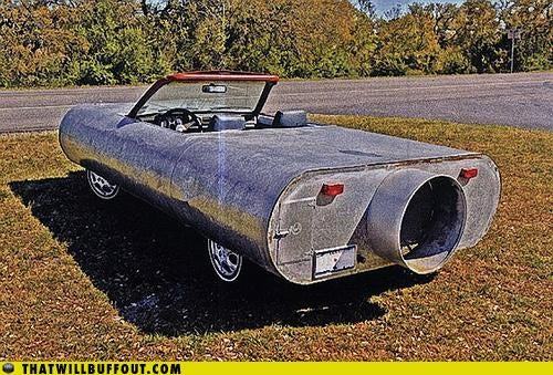 Whats The Deal With The Mufflermobile?
