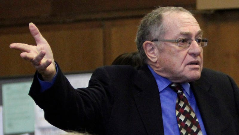 Fact-Checker to Alan Dershowitz: Who Says You're So Great?