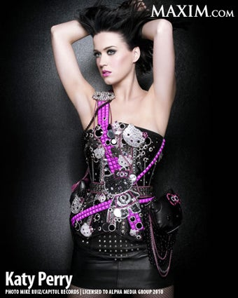 Katy Perry Is Hottest Woman of 2010, if Maxim Is to Be Believed
