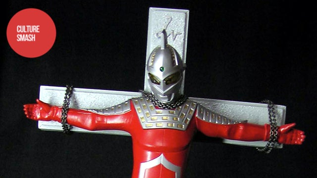 The Crucifixion of Japan's Greatest Super Hero