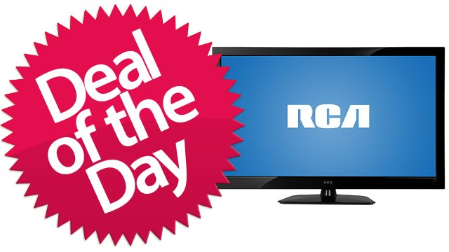 "This 42"" RCA LED HDTV Is Your Couch Potato Deal of the Day"