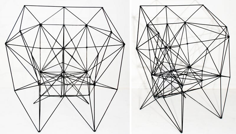 Designer Wireframe Chair Is Just Barely There