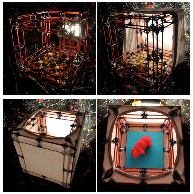 Make a DIY Photography Light Box with K'Nex