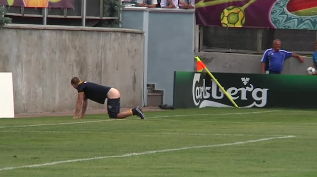 "Swedish Team In Trouble After Bare-Assed Game Of ""Butts Up"""