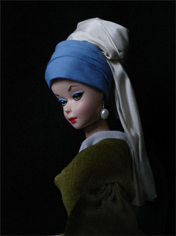 Painting Barbie Into Famous Artworks Is Cool But Creepy
