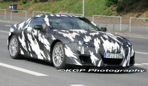 2010 Acura NSX Reportedly Already Running 7:37 at Nurburgring