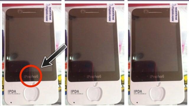iPhone6? No, It's the iPnoho6!