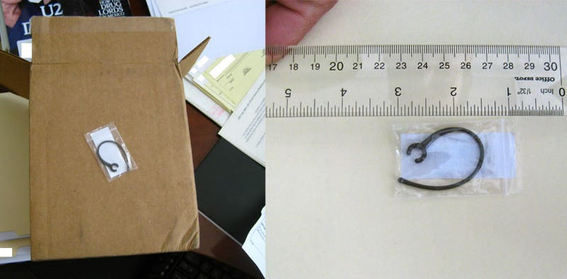 Motorola Sends Teeny Ear Clips In Huge Cardboard Box