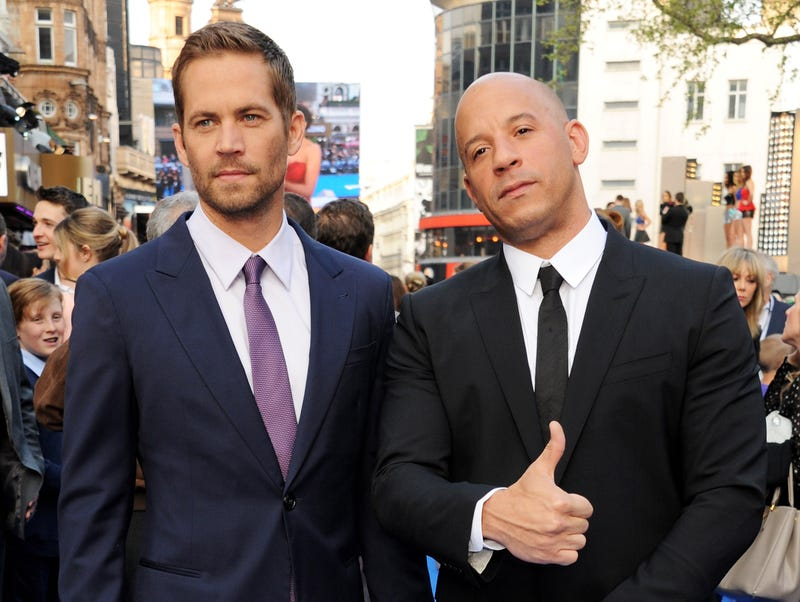 Vin Diesel Speaks To Fans At Paul Walker's Memorial Site