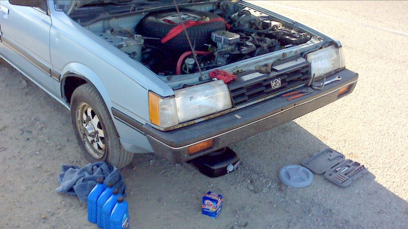 how to prove your own oil change