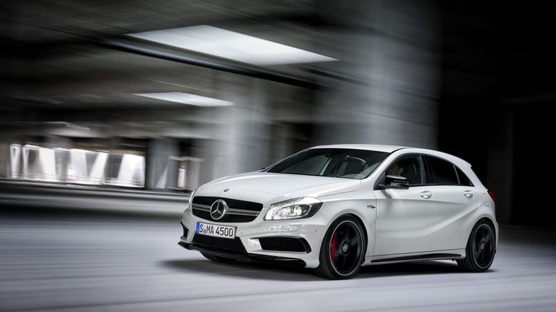 The 2014 Mercedes A45 AMG Is The Ultimate Hot Hatch That We'll Never See