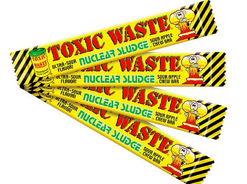 Toxic Waste Candy Might Make You Sick