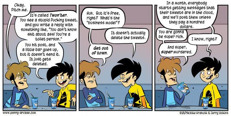 Sunday Comics: Mining Rights