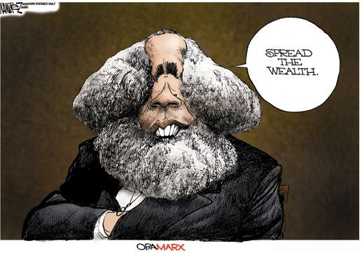 An Obama Presidency May Be Rough Going for Political Cartoonists