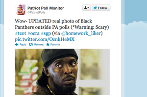 Twitter Racists Think Omar from The Wire is Comin' to Stop Them From Voting