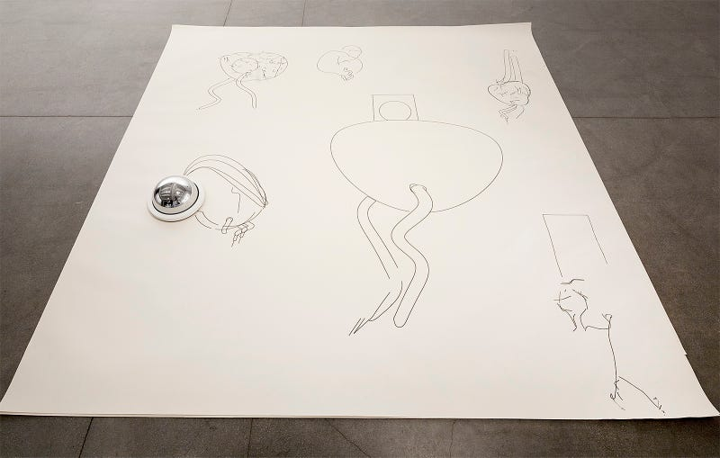 This Horny Roomba Just Wants To Draw Robot Peens